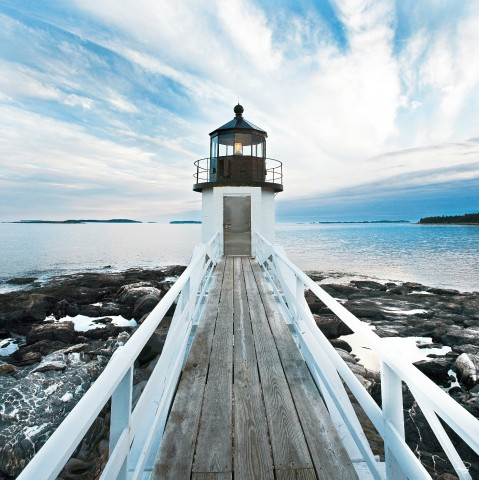 Photo Le phare de Marshall Point, USA par Philip Plisson