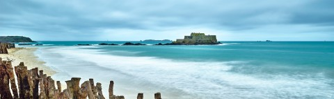 Photo The Fort National in Saint-Malo, Brittany par Philip Plisson