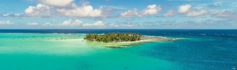 Photo Turquoise Paradise, French Polynesia par Philip Plisson