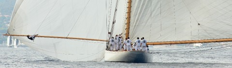 Photo Moonbeam IV, classic yacht par Gilles Martin-Raget