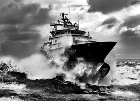 Photo Tugboat Abeille Bourbon par Philip Plisson