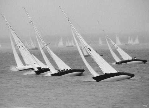 Photo Les régates de Cowes Week, île de Wight, Angleterre par Philip Plisson