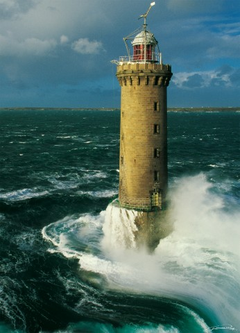 Photo Le phare de Kéréon, Finistère, Bretagne par Guillaume Plisson