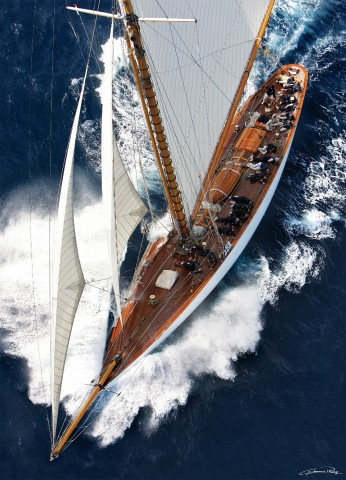 Photo Mariquita at the gathering of the Voiles de Saint-Tropez par Guillaume Plisson