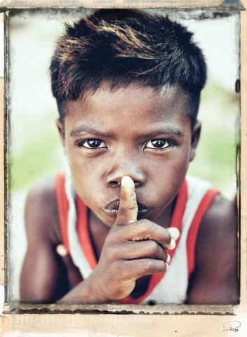 Photo Enfant Vezo, Madagascar par Philip Plisson