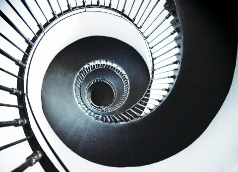 Photo Escalier de phare de Patiras sur la Gironde par Philip Plisson