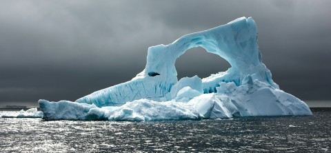 Photo Iceberg, Antarctique par Philip Plisson