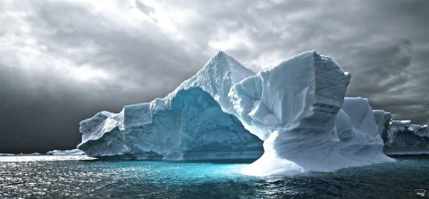 Photo Grand glacier, Antarctique par Philip Plisson