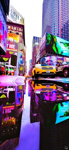 Photo Time Square, New York, USA par Philip Plisson