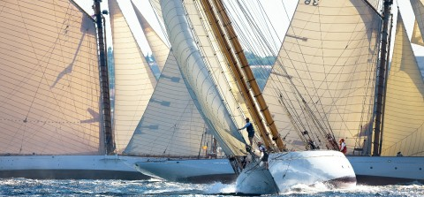 Photo Autumn regattas, Les Voiles de Saint-Tropez par Guillaume Plisson