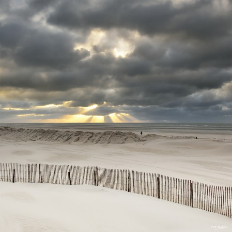 Photo Light on the Touquet beach par Georges-Félix Cohen