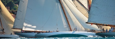 Photo Maraquita at the Voiles de Saint-Tropez regattas par Guillaume Plisson