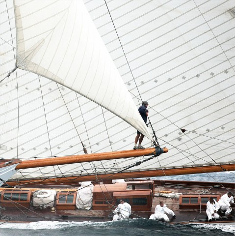 Photo Under the wind, Les Voiles de Saint-Tropez par Guillaume Plisson