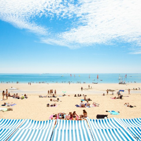 Photo La plage de la Baule, Loire-Atlantique par Philip Plisson