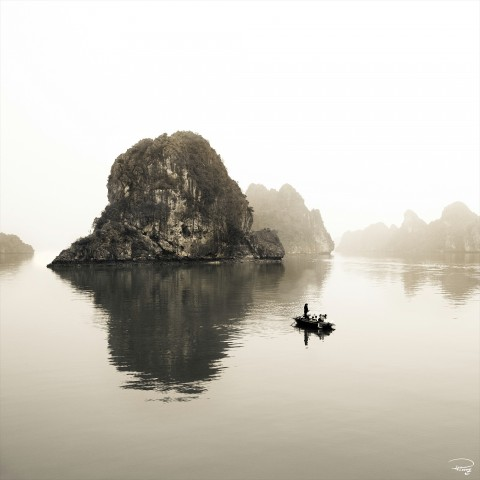 Photo Baie d'Along, Vietnam par Philip Plisson