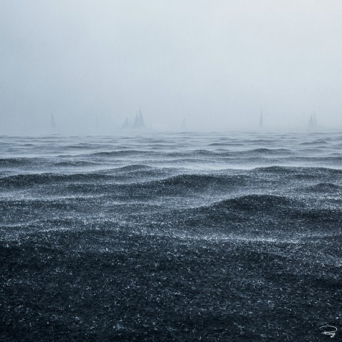 Photo Grain en mer par Philip Plisson