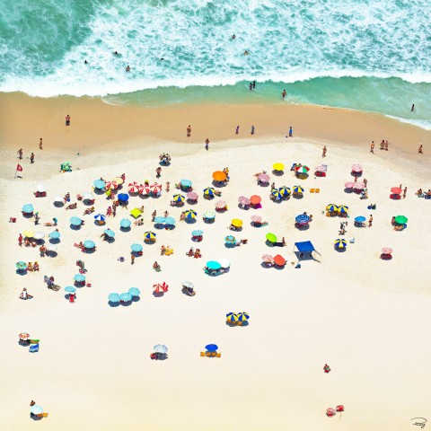 Photo Beach in Rio, Brazil par Philip Plisson