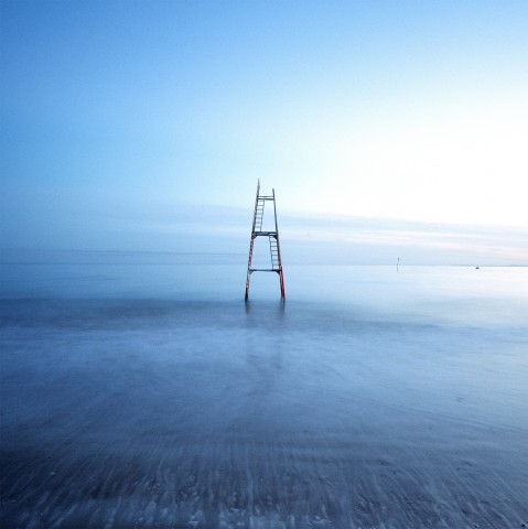 Photo Diving board at low tide, Brittany par Guillaume Plisson