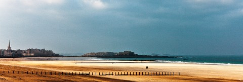 Photo Le Sillon, Saint-Malo, Ille-et-Vilaine, Bretagne par Philip Plisson