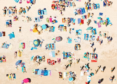 Photo The summer, the beach, the Brittany par Philip Plisson