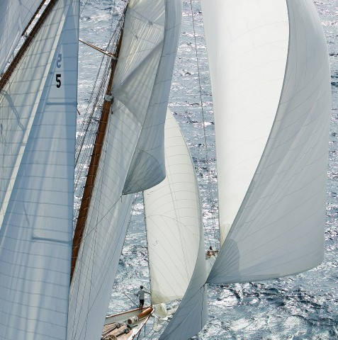 Photo Downwind, the Voiles de Saint-Tropez par Guillaume Plisson