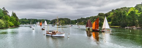 Photo Old rigs in the Gulf of Morbihan par Philip Plisson