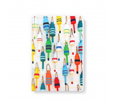 Photo Notebook, colorful buoys par Philip Plisson