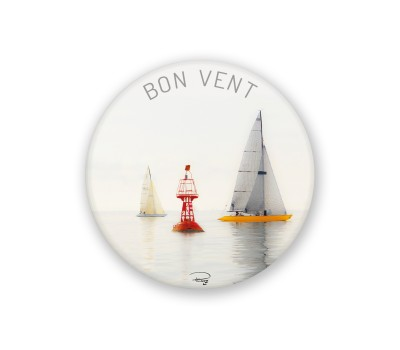 Photo Round magnet, Bon vent par Philip Plisson