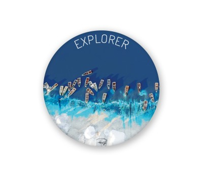 Photo Round magnet, Explorer par Philip Plisson