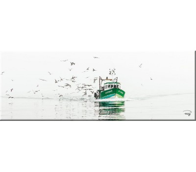 Photo Magnet, retour de pêche par Philip Plisson