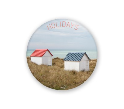 Photo Round magnet, Holidays par