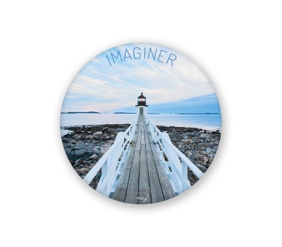 Photo Magnet rond, Imaginer par Philip Plisson