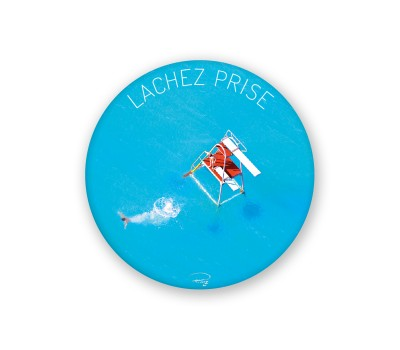 Photo Magnet rond, Lachez prise par Philip Plisson