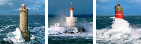 Photo Trio lighthouses of Brittany par Guillaume Plisson