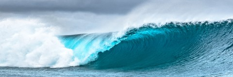 Photo Vague à Teahupoo par Philip Plisson