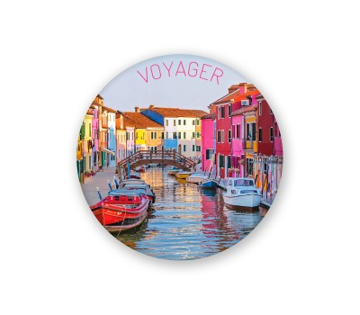 Photo Magnet rond, Voyager par Philip Plisson