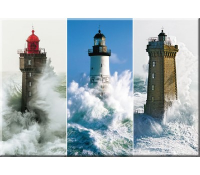 Photo Magnet, lighthouses of the Iroise sea, Brittany par Philip Plisson