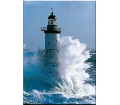 Photo Magnet, Ar-Men lighthouse par Guillaume Plisson