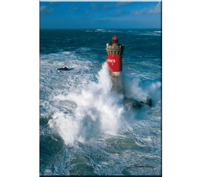 Photo Magnet, Pierres Noires lighthouse, Finistère par Guillaume Plisson