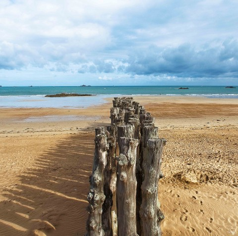 Photo Le Sillon, Saint-Malo, Ille-et-Vilaine par Philip Plisson